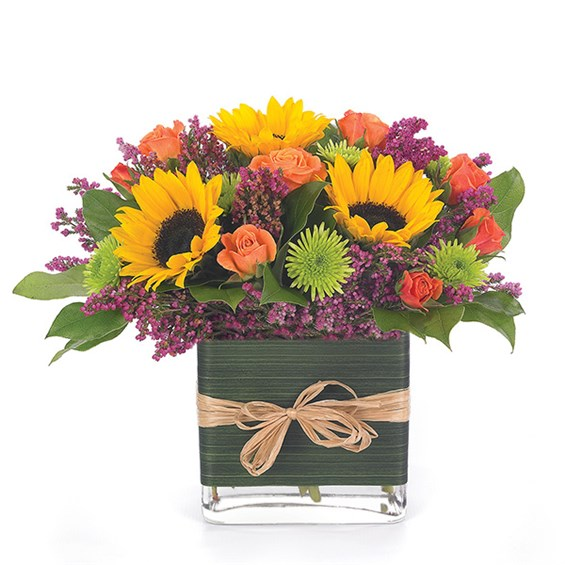 """Birthday Brilliance"" flower bouquet (BF8-11K)"